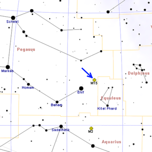 Messier 15 - Image: M15map