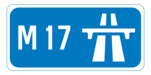 N17 road (Ireland) - Image: M17 motorway IE