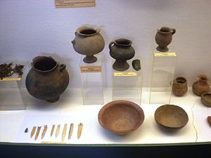 Indigenous peoples in Argentina - Artifacts at the Pío Pablo Díaz Museum in Cachi, Salta Province. One of several in Argentina devoted to the ethnology of indigenous peoples
