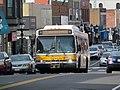 MBTA route 505 bus on Moody Street, April 2017.JPG