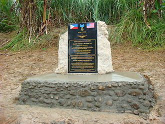 Thomas McGuire - Major McGuire Memorial on Negros Island, Republic of the Philippines.
