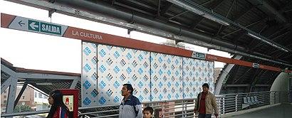 """Cómo llegar a Estación """"La Cultura"""" en transporte público - Sobre el lugar"""