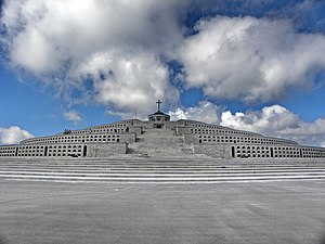 Monte Grappa - The World War I ossuary