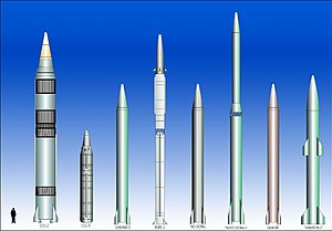 Medium-range ballistic missile - IRBM and MRBM missiles.