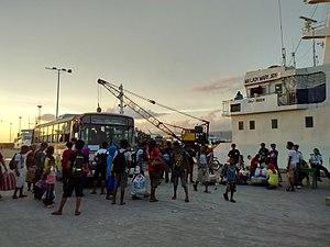 Port of Zamboanga - Image: MV Lady Mary Joy 3 LP