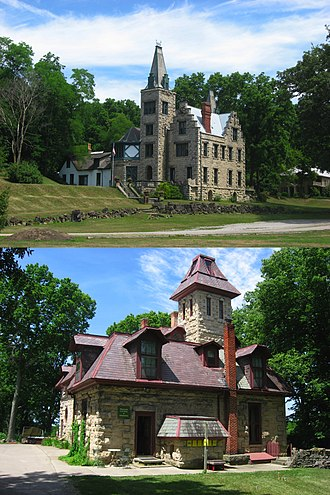 National Register of Historic Places listings in Ohio - Abram S. Piatt House and Donn S. Piatt House, in Logan County