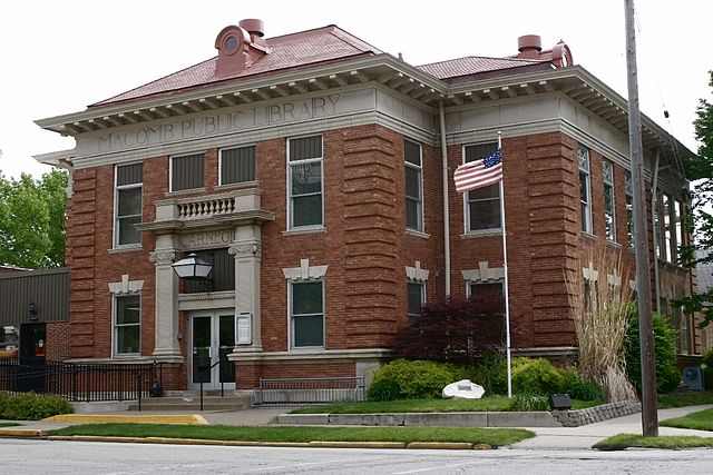 Публичная библиотека Карнеги в Иллинойсе