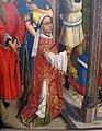 Maestro della leggenda di s. barbara, forse aert van den bossche, s.agostino sacrifica all'idolo dei manichei, 1480 ca. 03.JPG