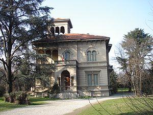 Magenta, Lombardy - Image: Magenta Italy Biblioteca