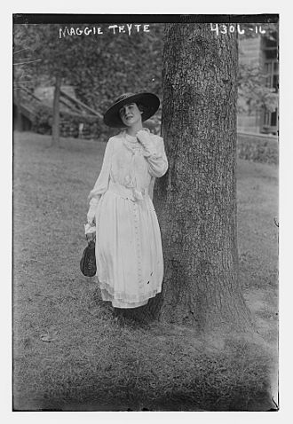 Maggie Teyte - Maggie Teyte in 1917