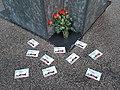 Maifeiertag2020 am Platz der Opfer des Nationalsozialismus in München 20200501 200744.jpg