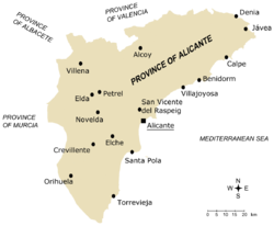 Main towns in the province of Alicante.png