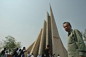 National Martyrs' Memorial - Syed Mainul Hossain by his own design National Martyrs' Memorial Jatiyo Smriti Soudho