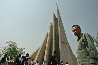 National Martyrs' Memorial - Syed Mainul Hossain by his own design National Martyrs' Memorial Jatiyo Smriti Soudho