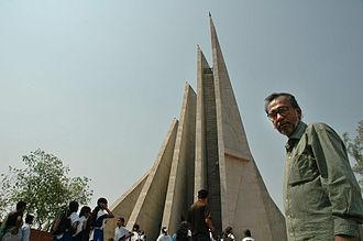 Syed Mainul Hossain - Syed Mainul Hossain by his own design National Martyrs' Memorial Jatiyo Smriti Soudho