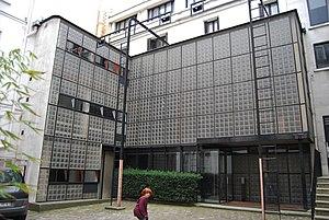 Maison de Verre - Maison de Verre (front left facade)