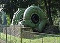 Malá vodní elektrárna Spálov, turbína - panoramio.jpg