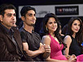 Malaika, Sameera & Prateik at Cotton Council of India's Lets Design 4 contest 5.jpg