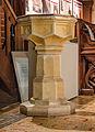 Malchow Orgelmuseum Klosterkirche Tauffünte.jpg