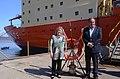 Malcorra y Martínez visitan el ARA Almirante Irízar.jpg