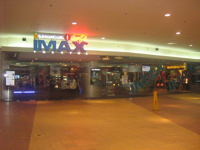 Mall of Asia IMAX theater exterior