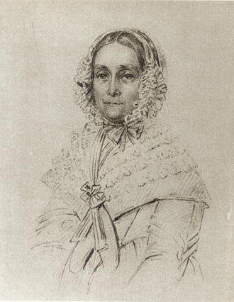 Maria Röhl - Image: Malla Silfverstolpe 1843