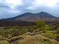 Malpaís. al fondo Pico viejo y Teide.jpg