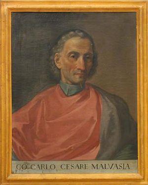 Carlo Cesare Malvasia - Portrait of Carlo Cesare Malvasia.