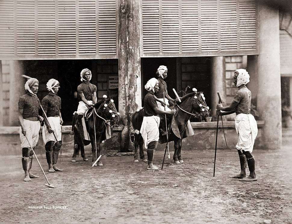Manipur Polo Players 1875