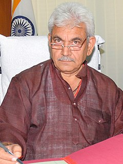 Manoj Sinha Indian politician