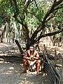 Mantenga jeu guerrier du Swazi Cultural Village.jpg