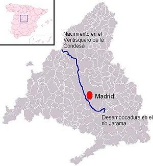 Manzanares (river) - Image: Manzanares