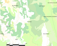 Map commune FR insee code 26111.png