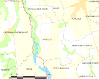 Map commune FR insee code 32163.png
