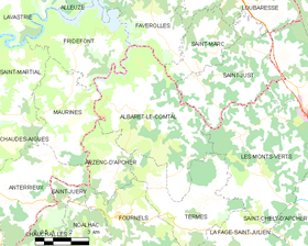 Map commune FR insee code 48001.png