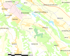 Map commune FR insee code 64005.png