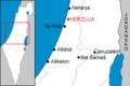 Map of Herzlija cs.png