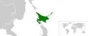 Map of Republic of Ezo
