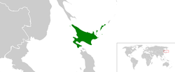 Location of Ezo