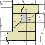 HUF is located in Vigo County, Indiana