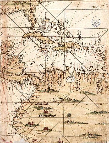 File:Mapa del Caribe y América Central (Siglo XVI).jpg