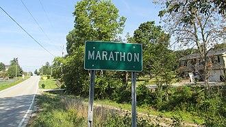 Marathon, Ohio - Image: Marathon OH1