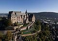 Marburg Schloss Luftbild RCheli Daniela Frank.jpg