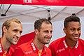 Marcel Risse, Matthias Lehmann und Nikolas Nartey 1. FC Köln (48569364562).jpg