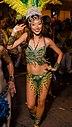 Mardi Gras 2012 - Honolulu - Dancing Gal with Feathers.jpg
