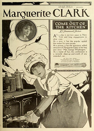 Come Out of the Kitchen - Period advertisement