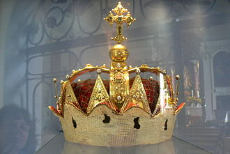 Archducal hat of Tyrol - The archducal hat of Tyrol at Mariastein Church