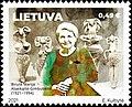 Marija Gimbutas 2021 stamp of Lithuania.jpg