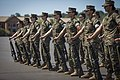 Marine Corps officer candidates conduct close order drill.jpg