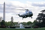 Marine One Arrives at the South Lawn (46898051384).jpg